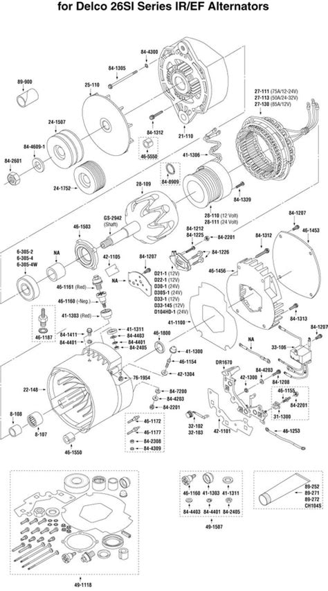 30 Delco Remy Alternator Wiring Diagram 4 Wire - Wiring