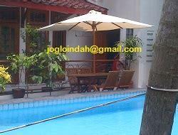 Meja Payung Jati Kolam Outdoor set meja payung cafe di patheya resto kemang jakarta