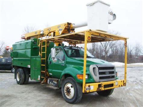 2005 ford truck 2005 ford f750 trucks boom trucks for sale 48