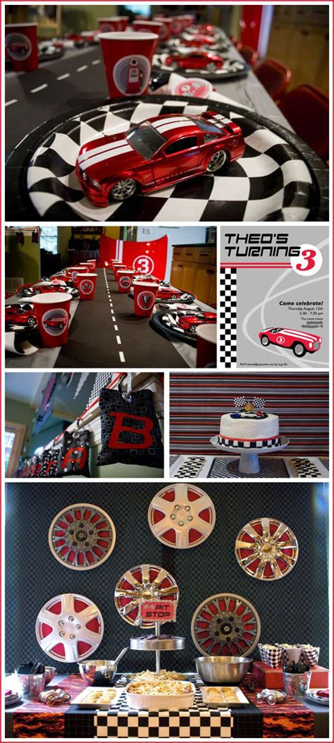real race car birthday