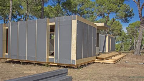 pop up house by multipod studio 9 homedsgn sustainable home can be built in four days using only a