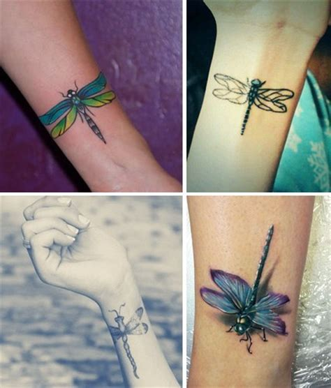 tattoo wrist dragonfly fly along with these cool bird tattoos