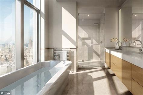new york apartment bathrooms the 60 000 a month penthouse that s the highest apartment