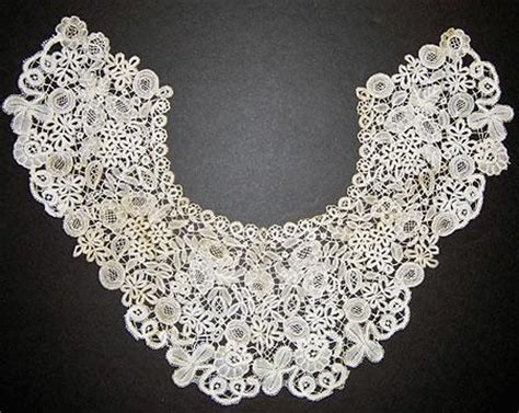 Handmade Belgian Lace - antique lace collars cuffs legacy in lace