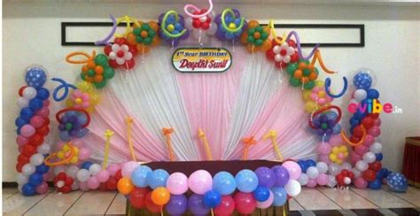 Birthday Decorations by How To Celebrate Kid S Birthday At Home Within A