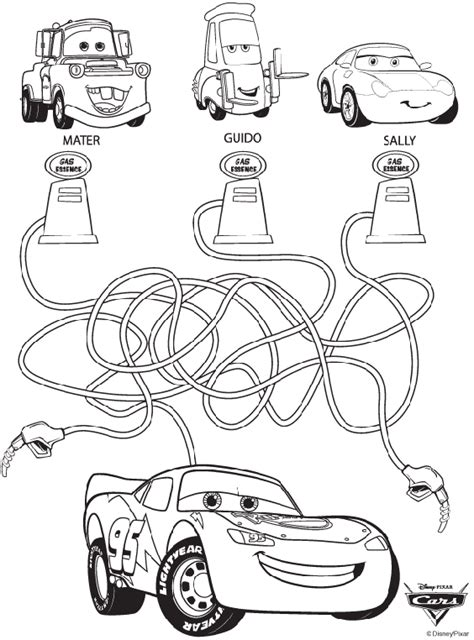 crayola free coloring pages disney disney cars maze crayola co uk