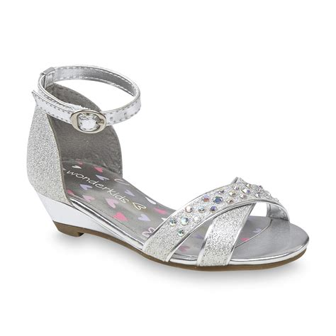 silver toddler sandals wonderkids toddler s quincy silver strappy sandal