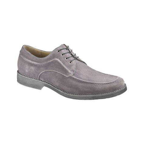 Hush Puppies Clasic Grey hush puppies 174 commemorate moc toe lace up shoes in gray