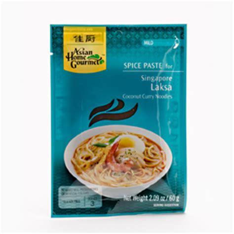 Singapore Laksa Paste Asian And Foods Asian Home Gourmet Singapore
