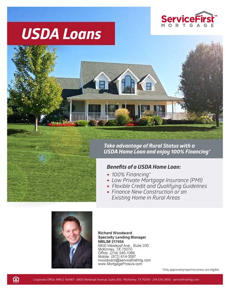 usda home loans no money program