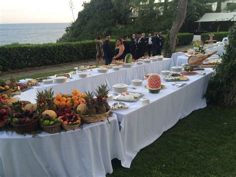 tavoli per buffet tavoli da buffet nolo catering