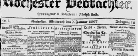 Rochester Marriage Records Free German Language Newspapers Sassy Genealogy