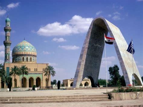world famous landmarks baghdad iraq tourist destinations