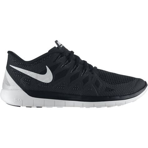 nike free 5 0 running nike mens free 5 0 running shoes black white