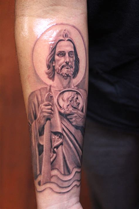 san judas tadeo tattoo santo san judas tadeo bryangvargas