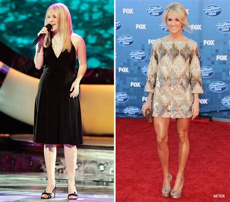 Carrie Underwoods Weight Loss by Carrie Underwood S Weight Loss Before And After Pk