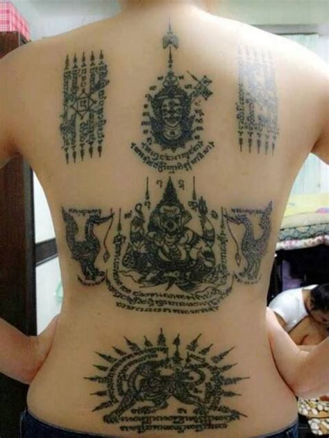 thai buddhist tattoos designs thai tattoos