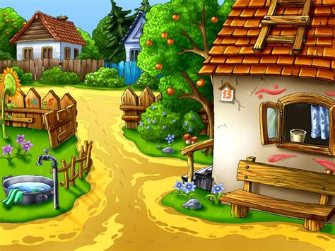 Cartoon House Design Hd Wallpaper Download Cool Hd Wallpapers Here