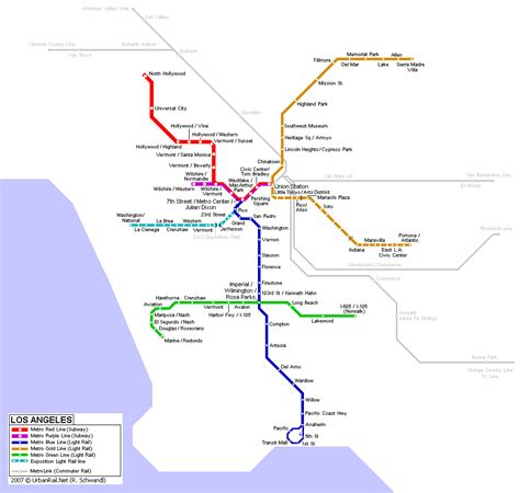 la subway map los angeles images metro map hd wallpaper and background photos 1099727