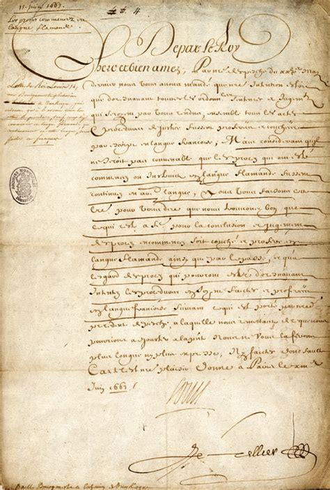 Lettre De Cachet De Louis Xiv L Histoire En Images