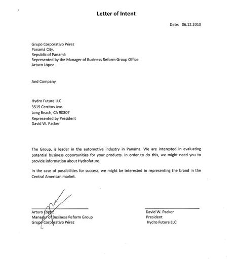 Letter Of Intent To Purchase Real Estate Ohio Letter Of Intent To Sell Business Sle Loi Sles Business Partnership Agreement Template