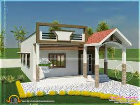 Single Floor House Plans In Tamilnadu 740 Square Single Storied House Kerala Home Design And Floor Plans