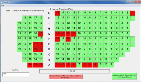 cinema 21 online booking sql seat reservation in c stack overflow