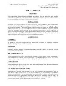 Sample Resume For Warehouse Forklift Operator