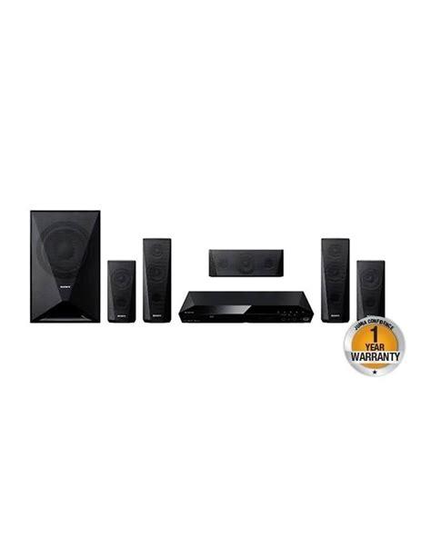 sony dav dz ch dvd home theatre system black