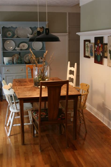 eclectic dining room room decorating before and after makeovers