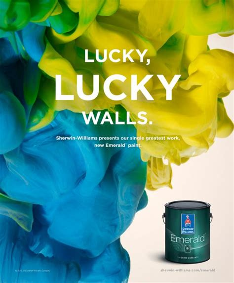 Dm Interior Design Sherwin Williams Washable Paints Quot Lucky Lucky Walls