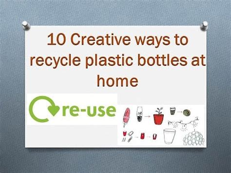 10 creative ways to recycle plastic bottles at home