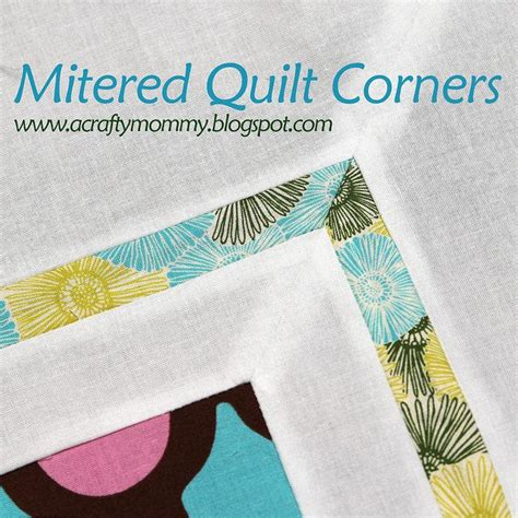 Mitre Corners On Quilt Binding by 1000 Images About Miter Corners Quilt On