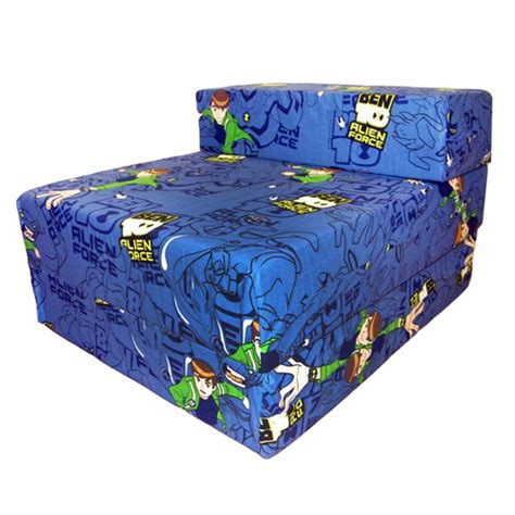 kids foam couch bed ben 10 design childrens fold out foam z bed futon kids