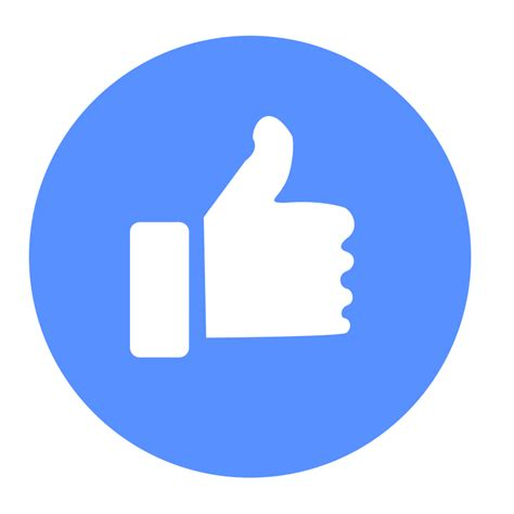 fb icon png facebook like png transparent facebook like png images