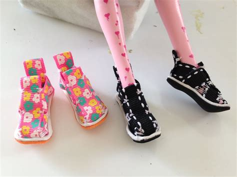 fashion doll tutorial 133 best doll shoes images on doll