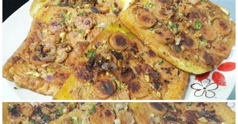 Pemanggang Roti Segitiga faizaleda pizza gardenia tanpa cheese dan tanpa bakar