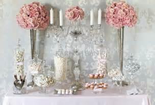 Sweet Buffet Table Gorgeous Pink Buffet