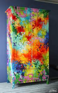 adding color with painted furniture tevami