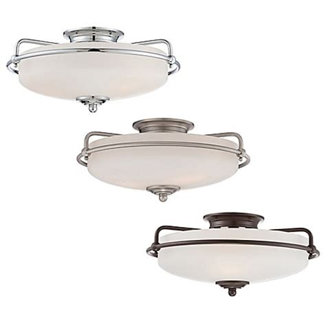 Quoizel Flush Mount Ceiling Light Quoizel Griffin Floating Flush Mount Ceiling Light Bed Bath Beyond