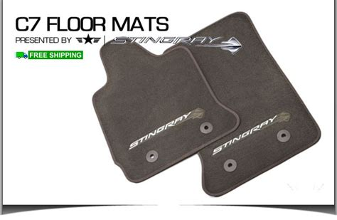 2015 chevy corvette floor mats 2014 15 c7 corvette stingray gm brownstone floor mats