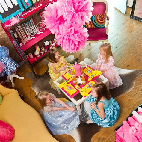 Birthday Themes Dress Up | dress up birthday party bloom designs