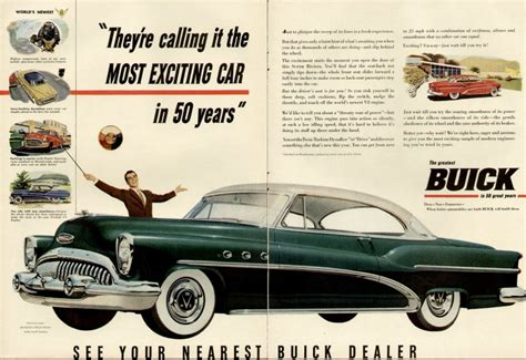 photo 1953 buick ad buick ads brochures album
