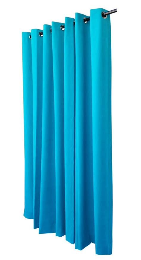 turquoise eyelet curtains turquoise 72 quot h velvet curtain panel w grommet top eyelets