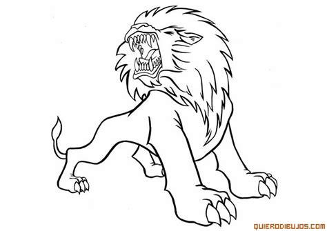 imagenes de leones reales para imprimir leon para colorear