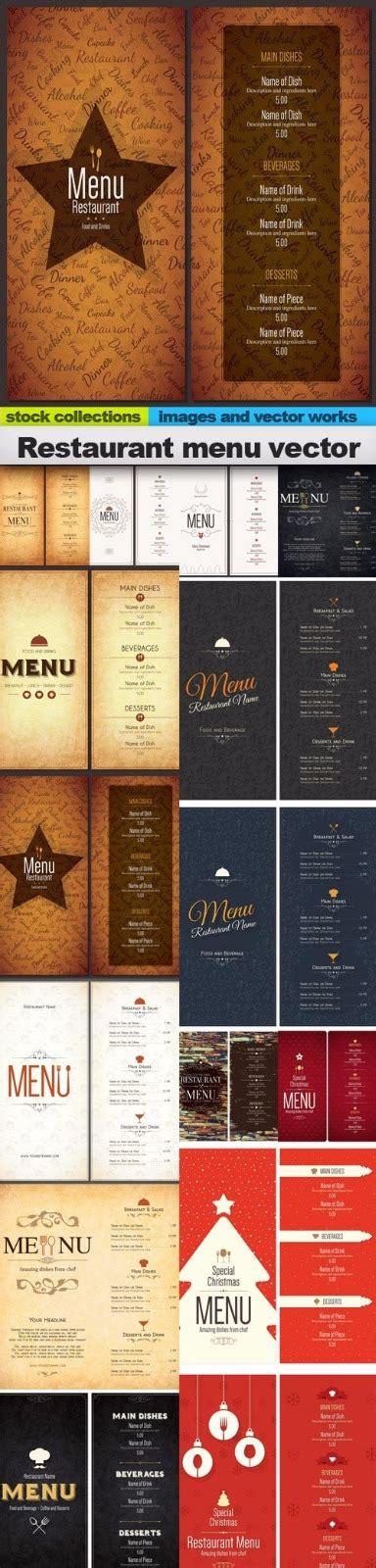 desain daftar menu psd jual template desain menu restoran psd vector creative