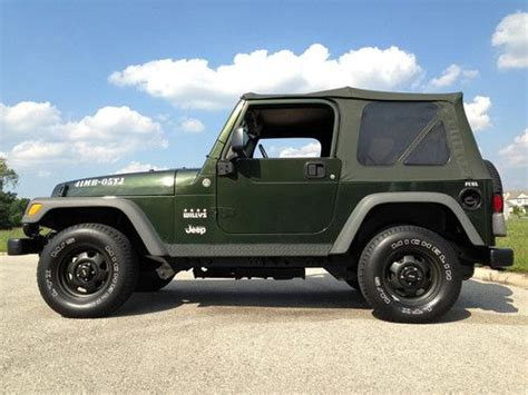 Buy Used Jeep Buy Used 2005 Jeep Wrangler 4 0l 4x4 Willys Limited