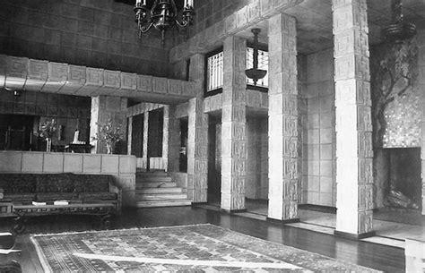 ennis house interior water and power associates