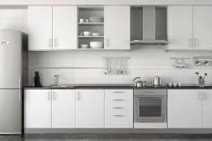 Using standard cabinets is the way to go on a small kitchen renovation