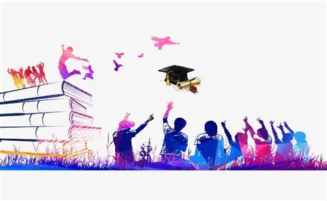 bachelor hat youth  graduation element background